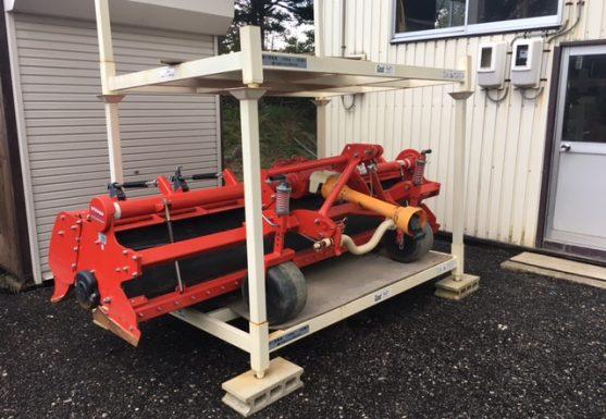 グッドラック 保管棚 連結 段積 作業機械 農具