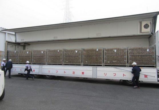 メッシュコンテナボックス 鉄コンテナ セイカン 馬鈴薯 輸送効率