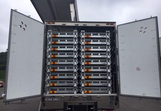 メッシュコンテナボックス 鉄コンテナ セイカン 輸送効率