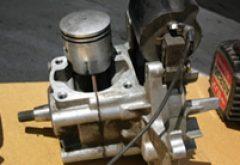 小型エンジン修理